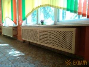 деревянные экраны в школе