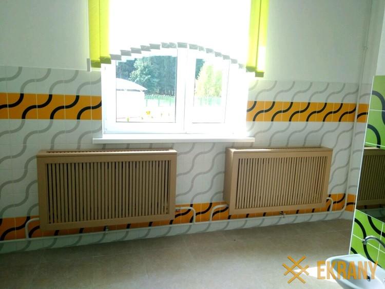деревянный экраны в детский сад