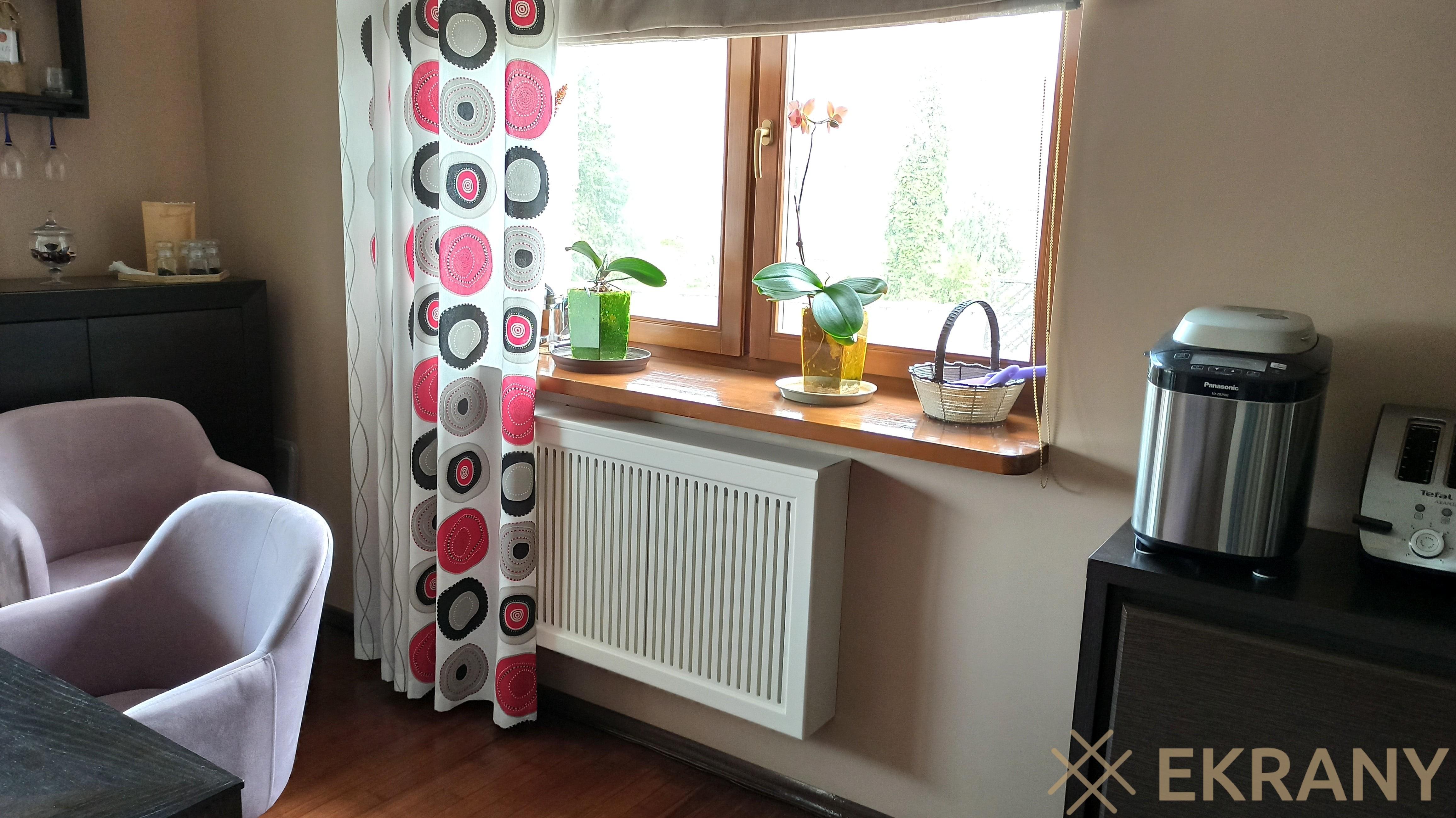 узор вертикаль в интерьере кухни